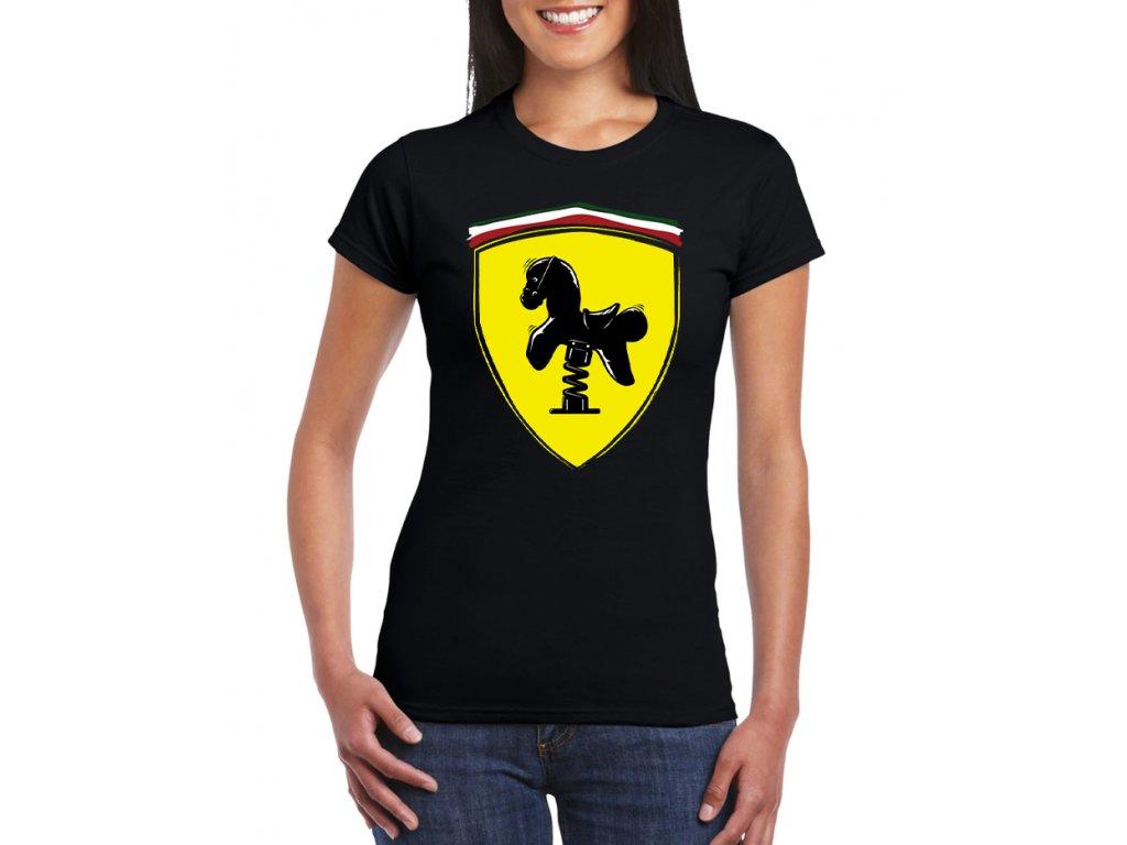 Dámské ferrari tričko