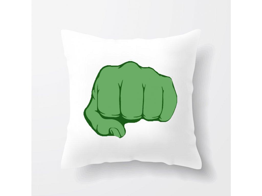 polštář Hulk pěst