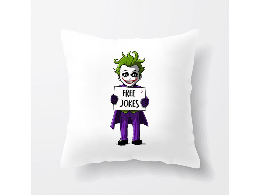 polštář Joker Vtipy Zdarma