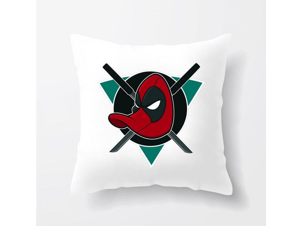 polštář Anaheim Ducks Majestic Parodie Deadpool