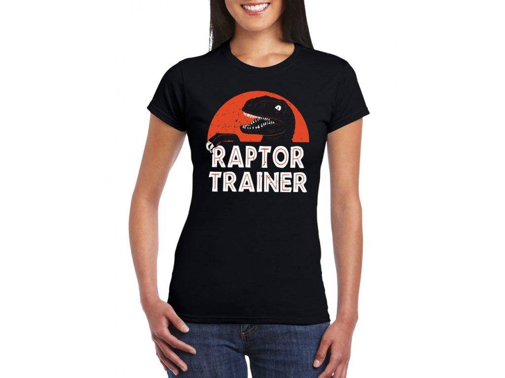 dámské tričko T rex jurský park radar