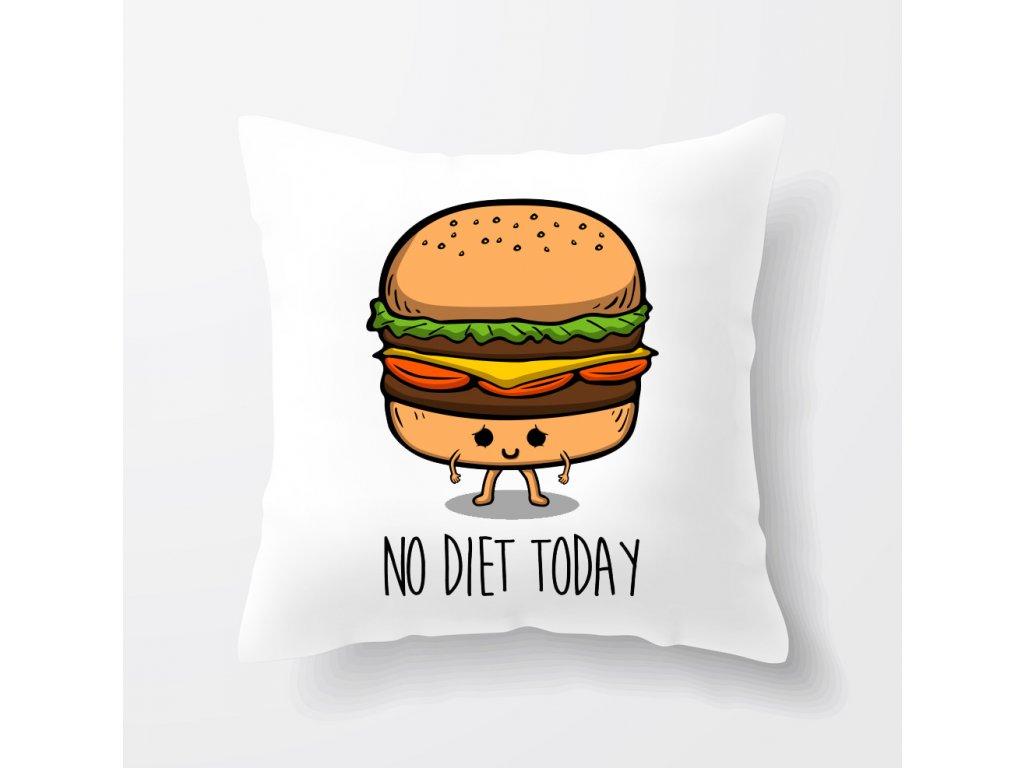 polštář Dneska Nedržím Dietu