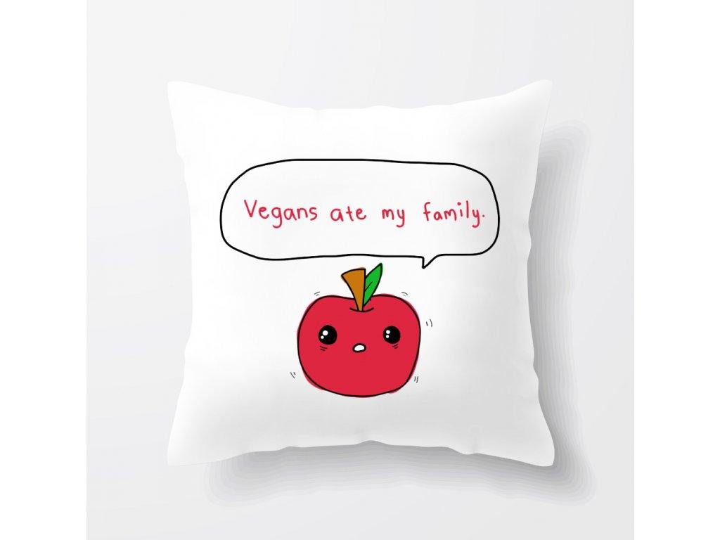 polštář Vegan