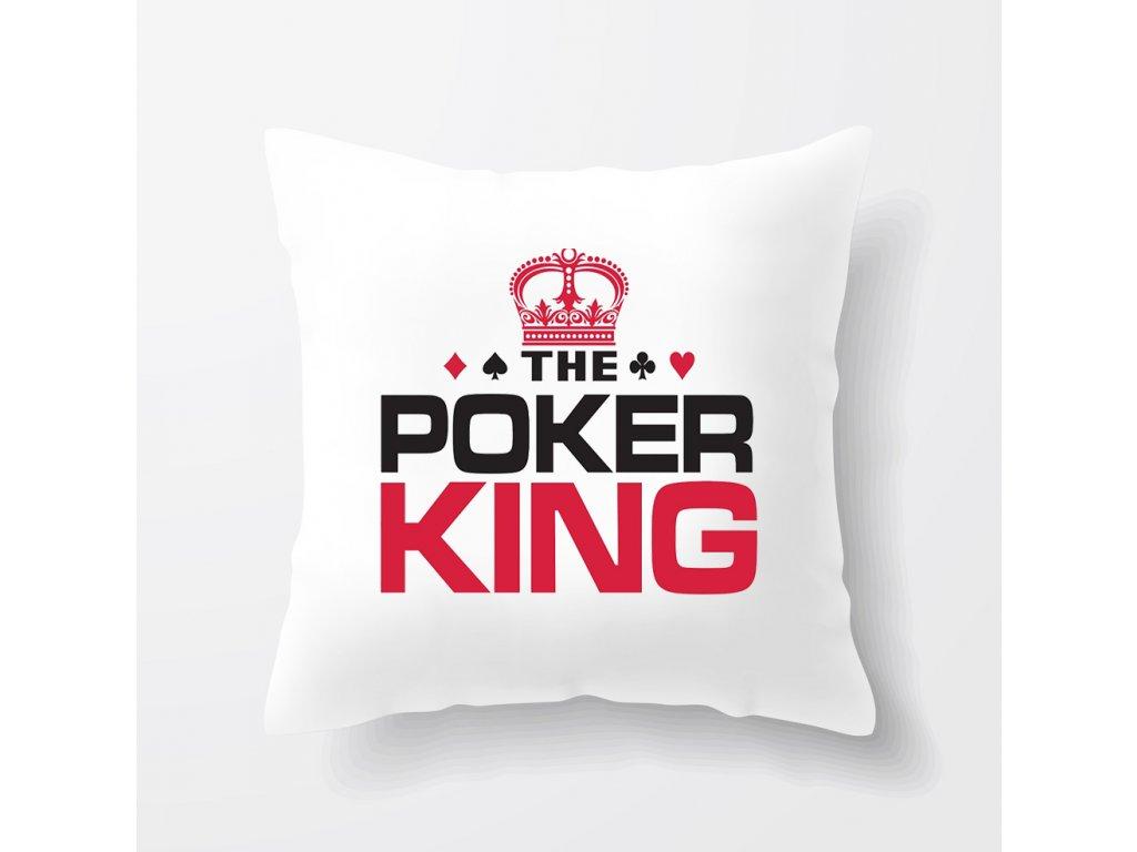 polštář Pokerový Král