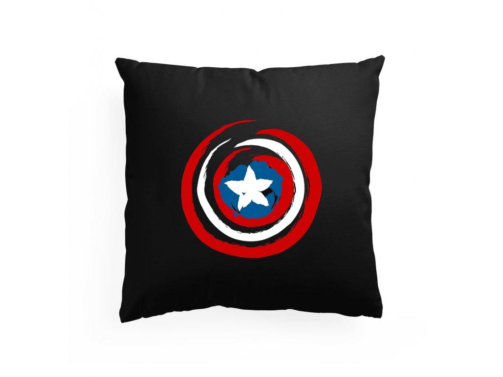 polštář Kapitán Amerika