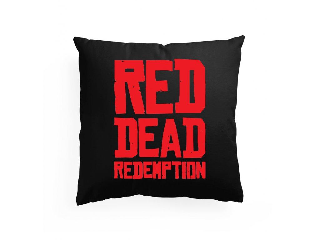 polštář Red dead redemption