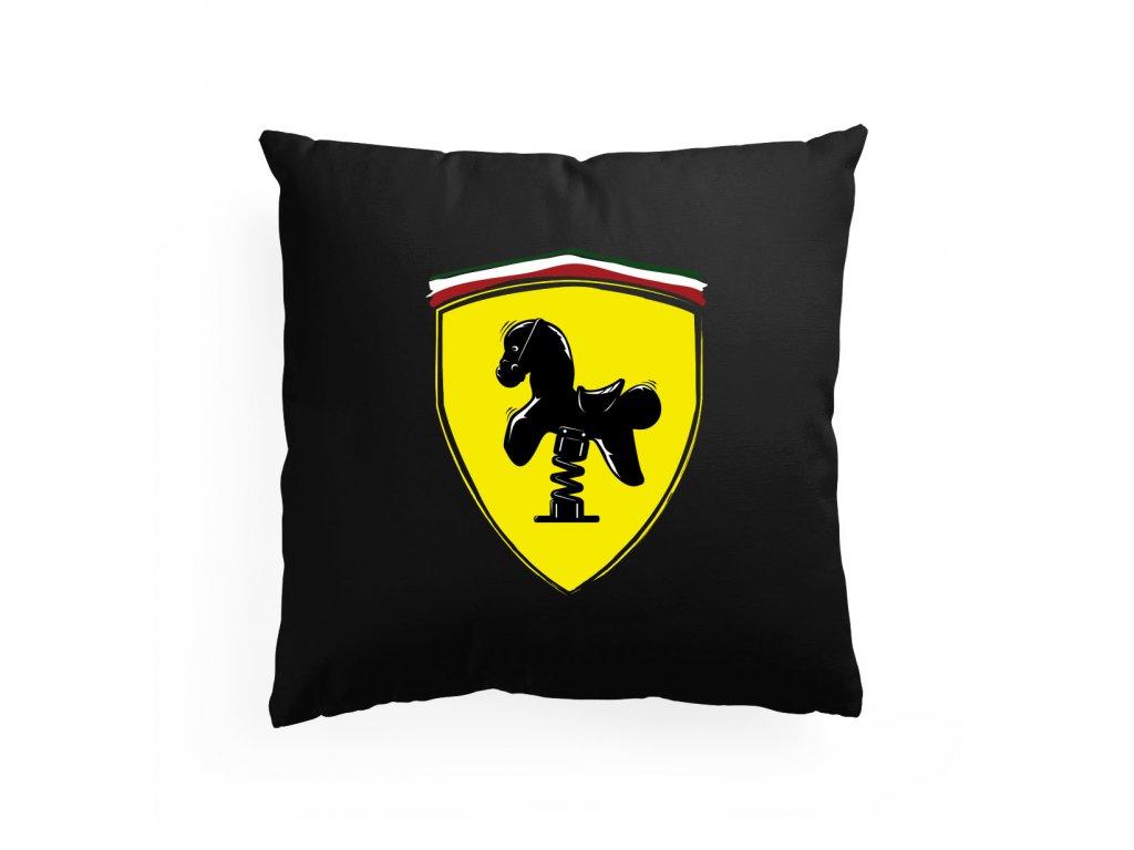 polštář Ferrari kůň
