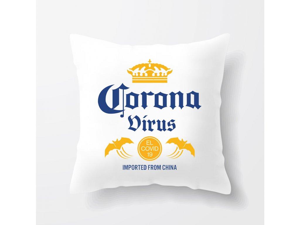 polštář coronavirus