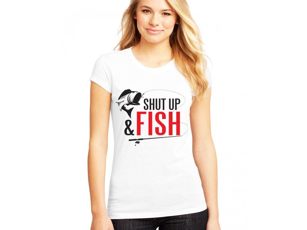 dámské tričko sklapni a chytej ryby