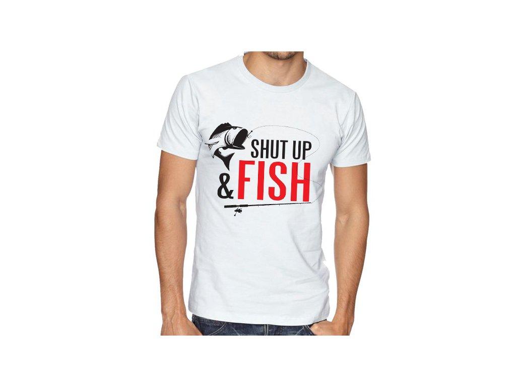 Pánské tričko sklapni a chytej ryby