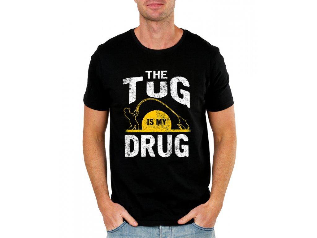 pánské tričko rybaření je moje droga