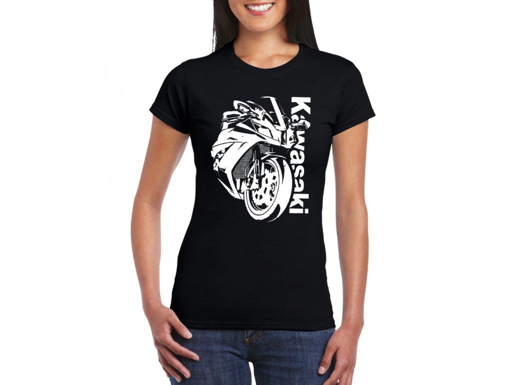 Dámské tričko Kawasaki ninja