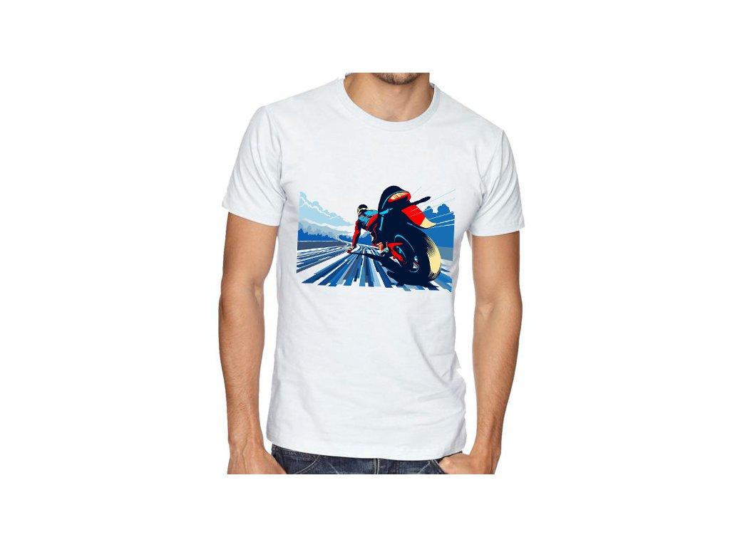 Pánské tričko Motorkář závod