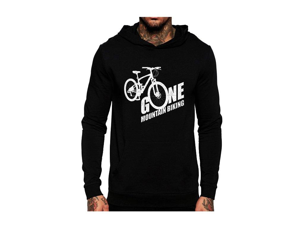 Mikina s kapucí Horská jízda na kole