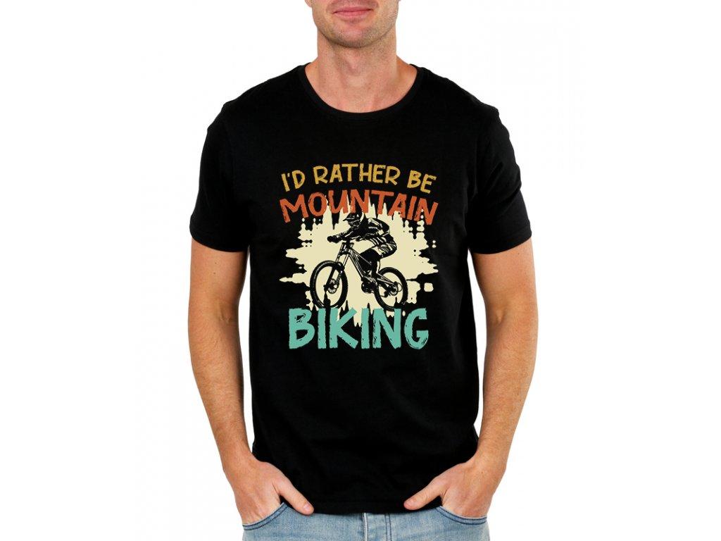 Pánské tričko Raději budu jezdit na kole
