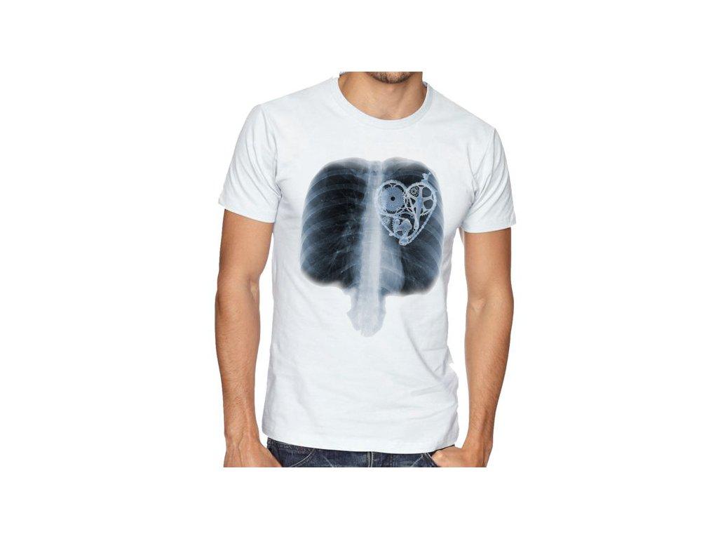 Pánské tričko Srdce Cyklista