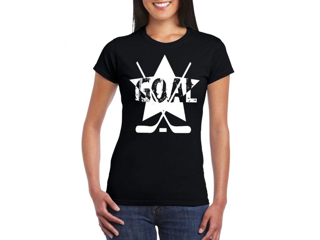 Dámské tričko Hokej Goal