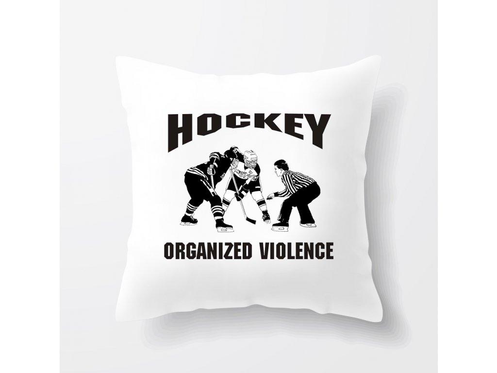 Polštář Hokej organizované násilí