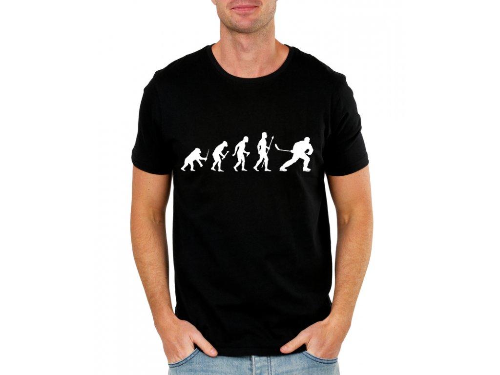 Pánské tričko Hokej evoluce