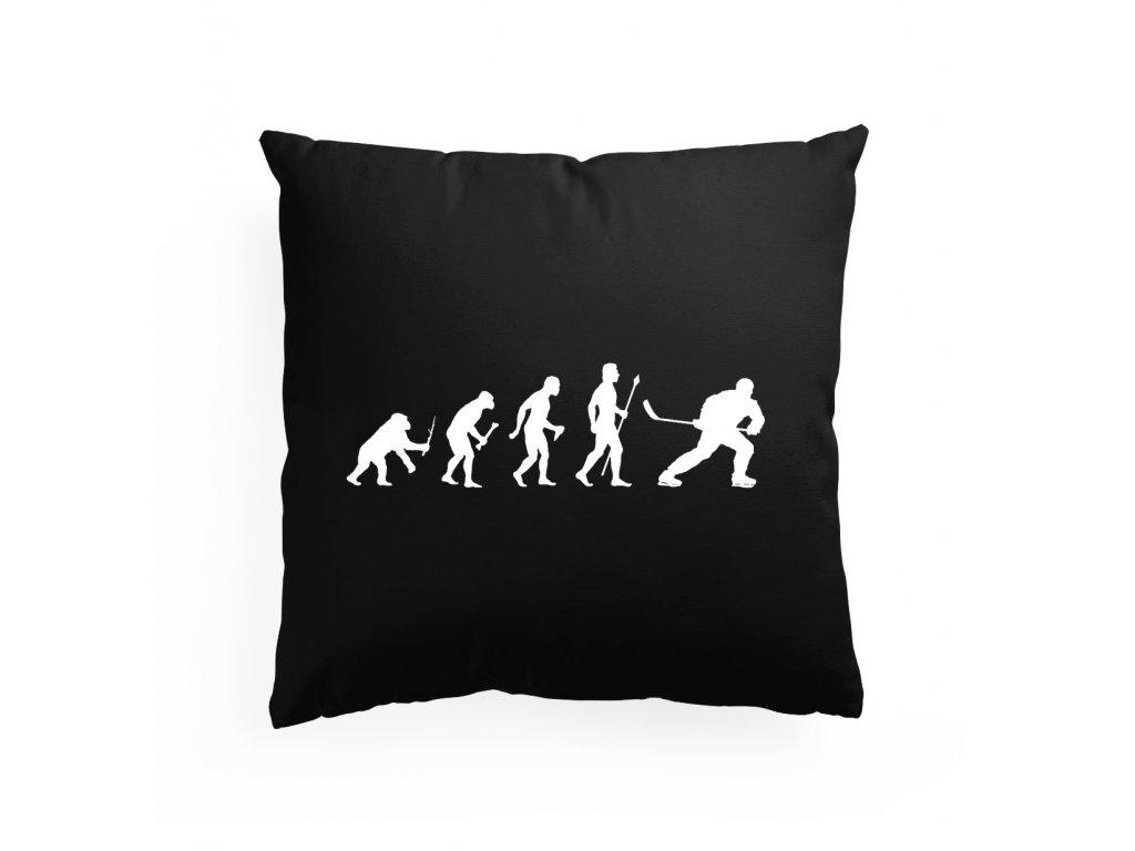 Polštář Hokej evoluce