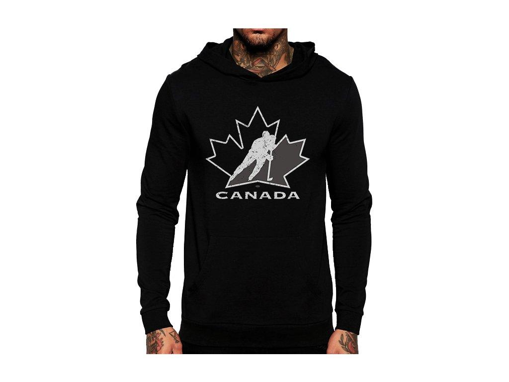 Mikina s kapucí Kanada Hokej