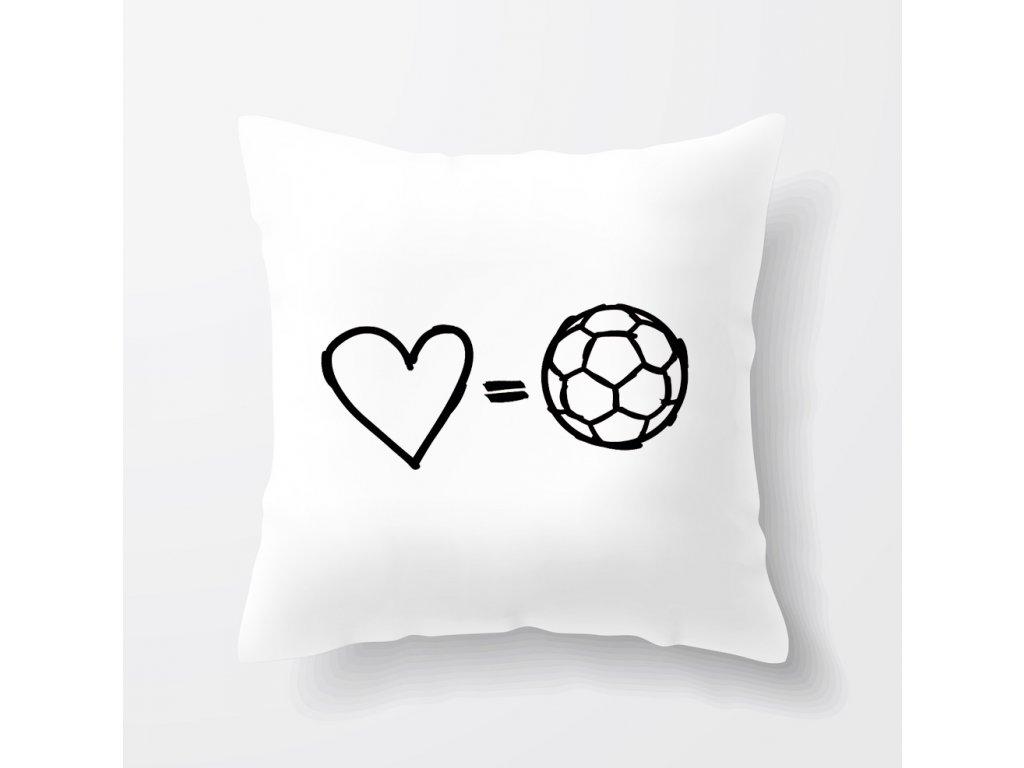Polštář Láska k fotbalu