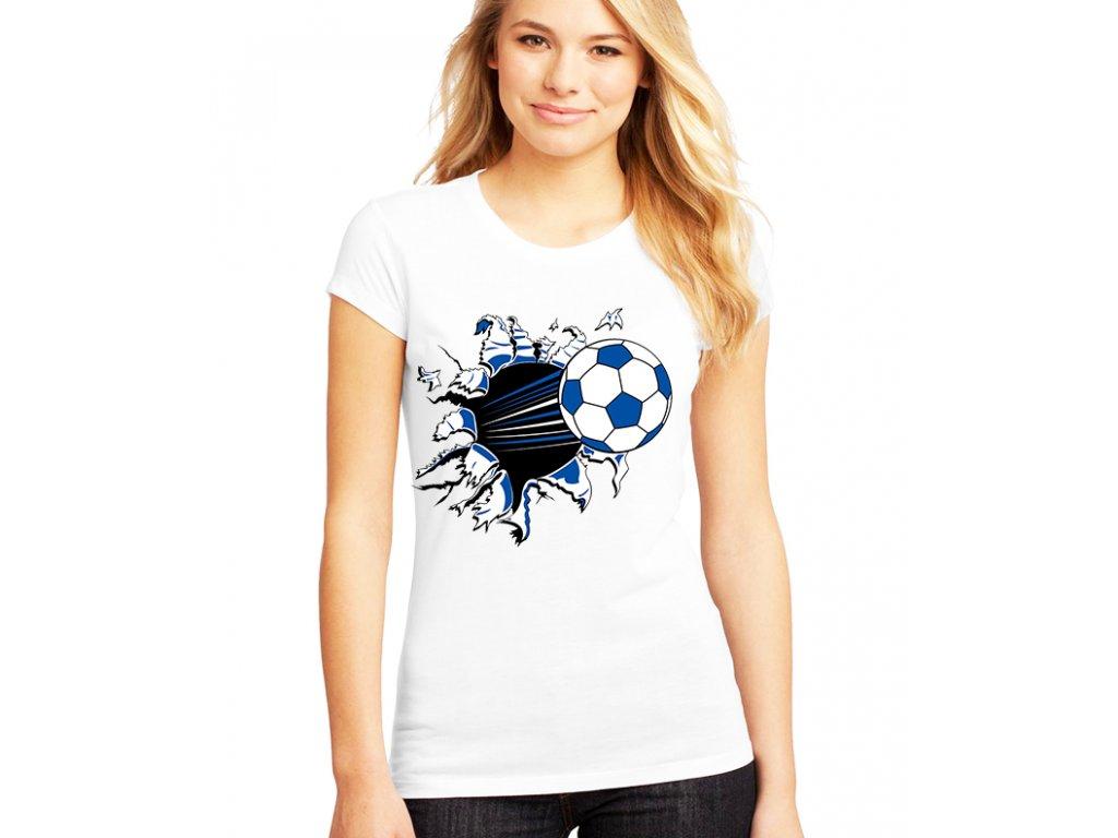 Dámské tričko Fotbalový míč