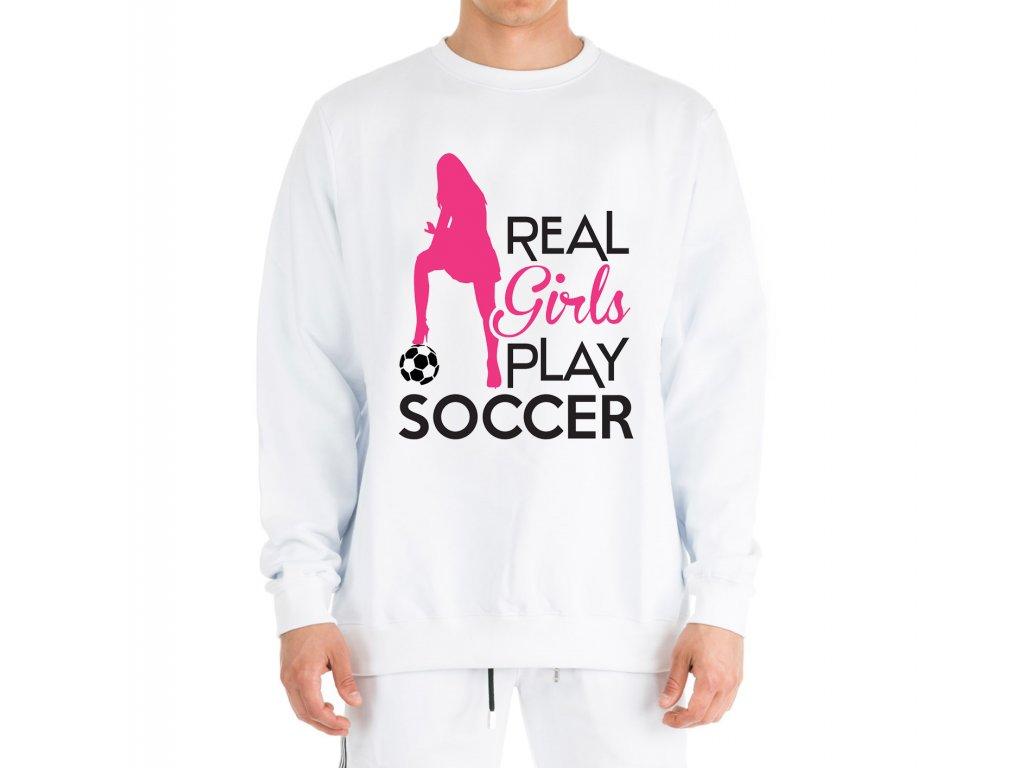 Mikina Opravdové holky hrají fotbal