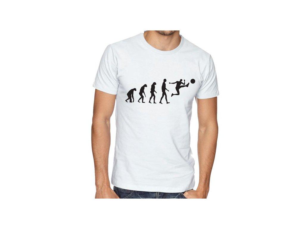 Pánské tričko Fotbal Evoluce