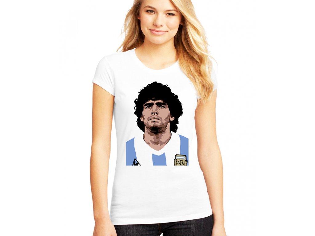 Dámské tričko Maradona