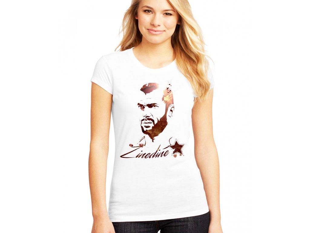 Dámské tričko Zidane