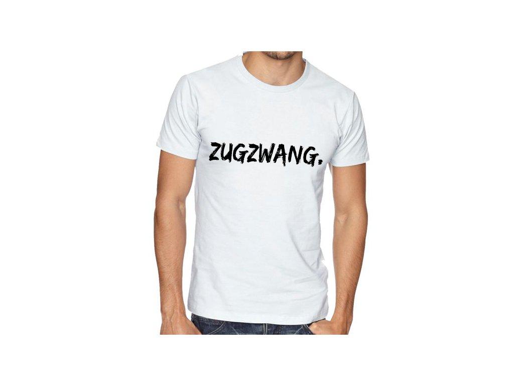 Pánské tričko Šachy Zugzwang