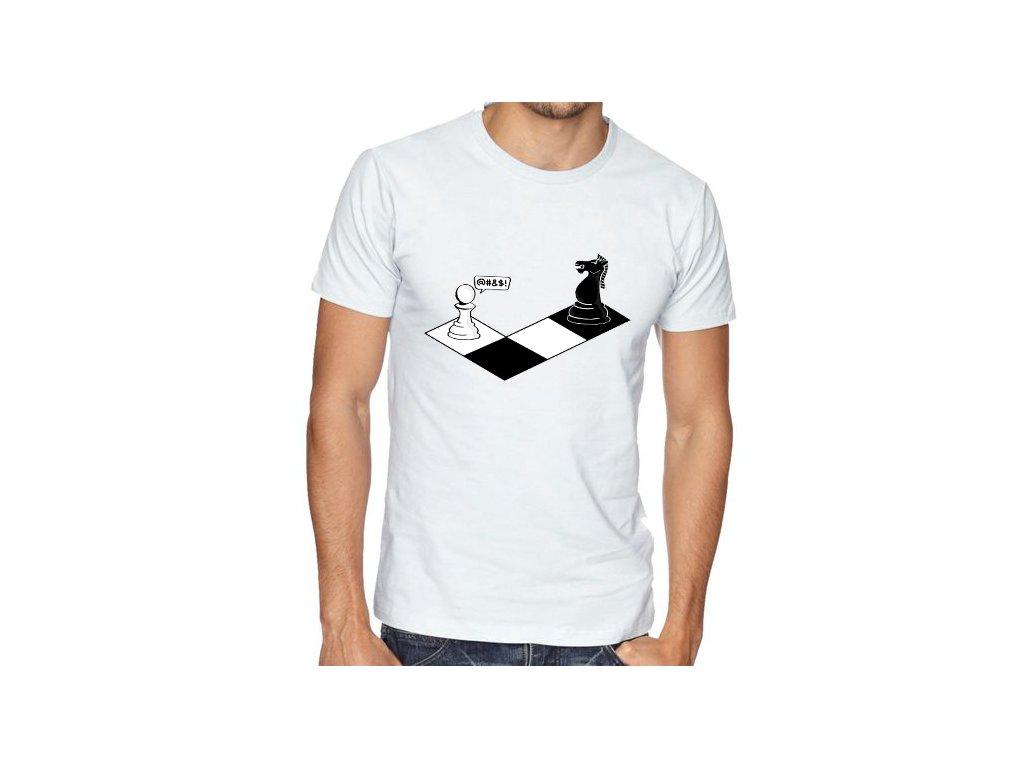 Pánské tričko Kůn vs pěšec