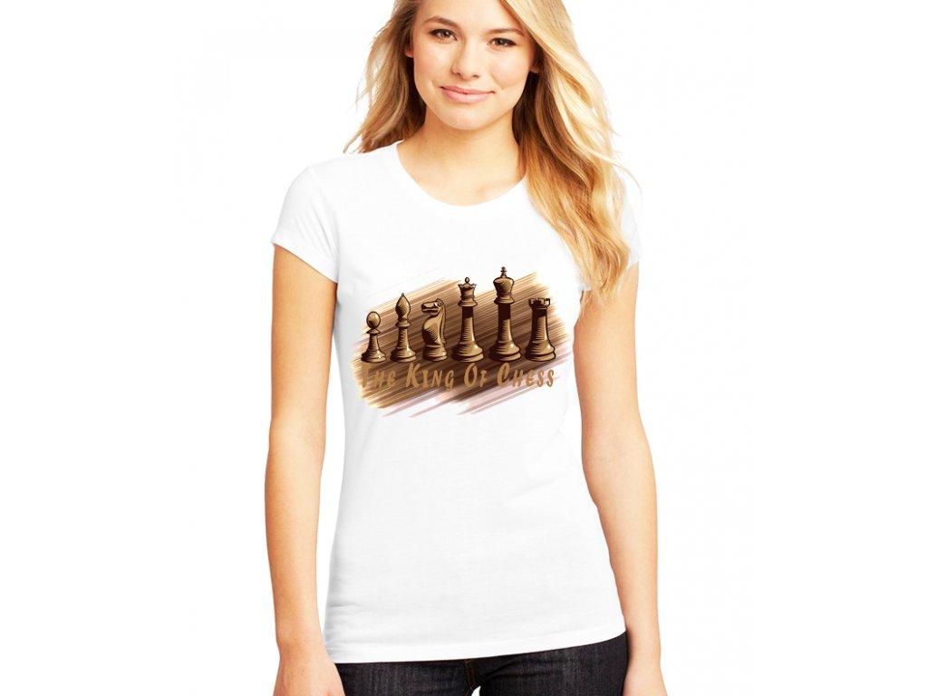 Dámské tričko Král šachu