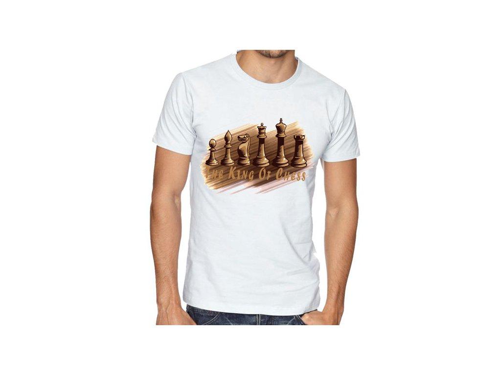 Pánské tričko Král šachu
