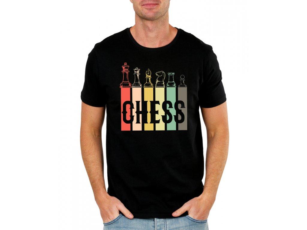 panske tričko Šachy
