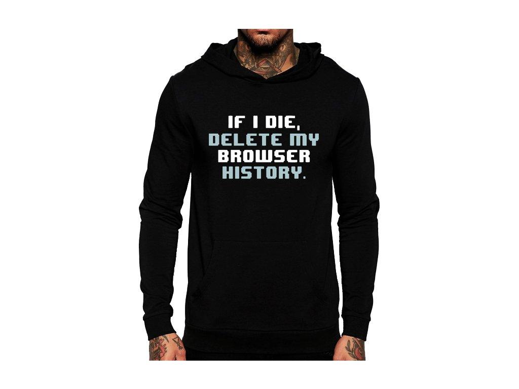 mikina Historie Prohlížeče