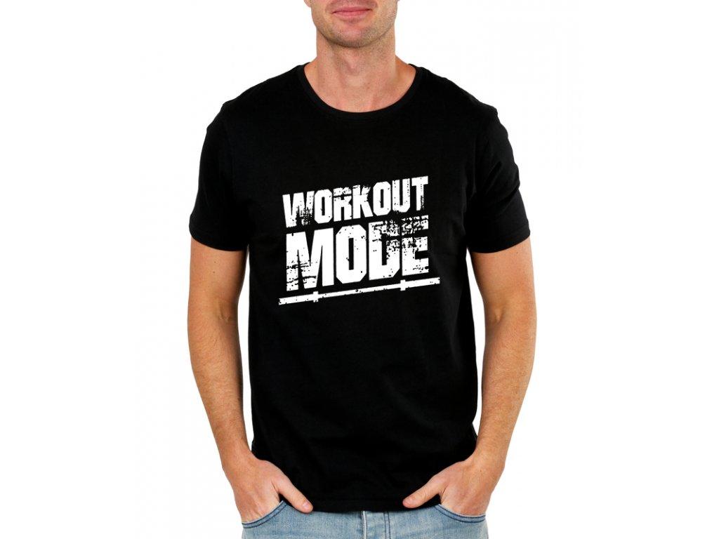 Pánské tričko Čas cvičit