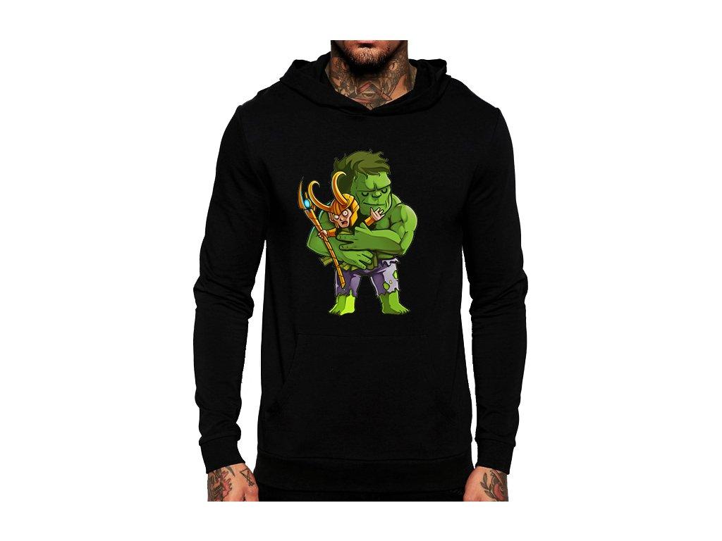 mikina Hulk a Loki Avengers