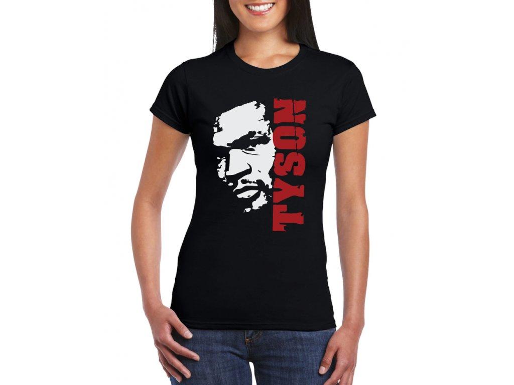 Dámské tričko Mike Tyson