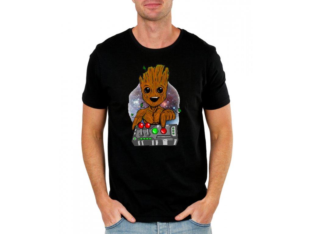 Pánské tričko Groot Strážci galaxie