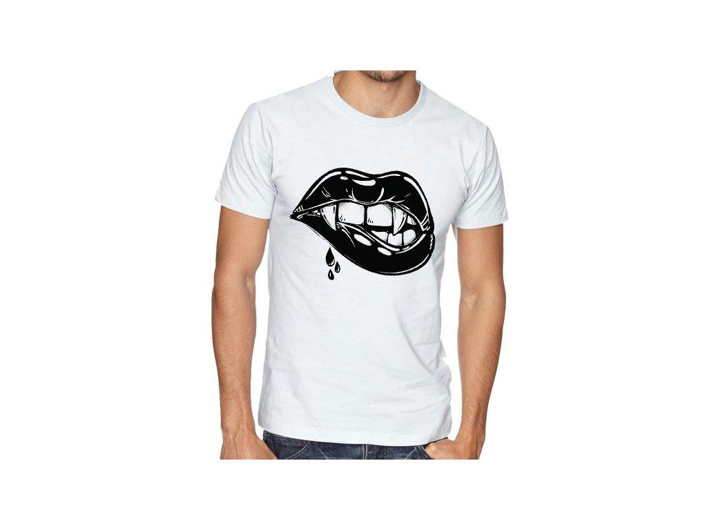 Pánské tričko Rty Vampír