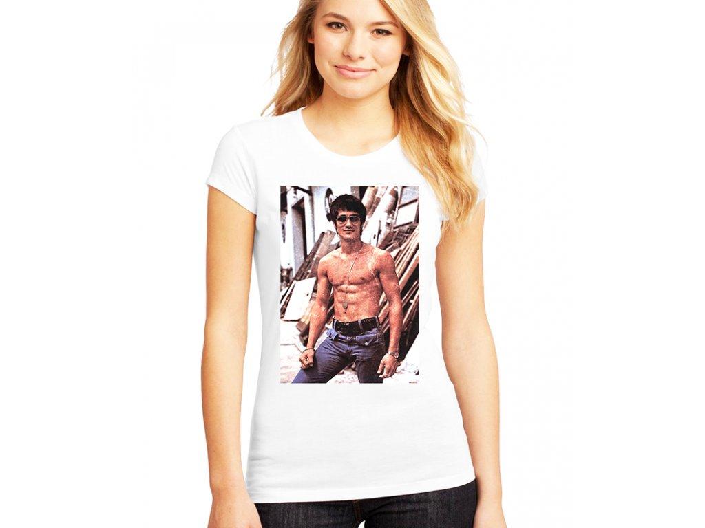 Dámské tričko Bruce lee
