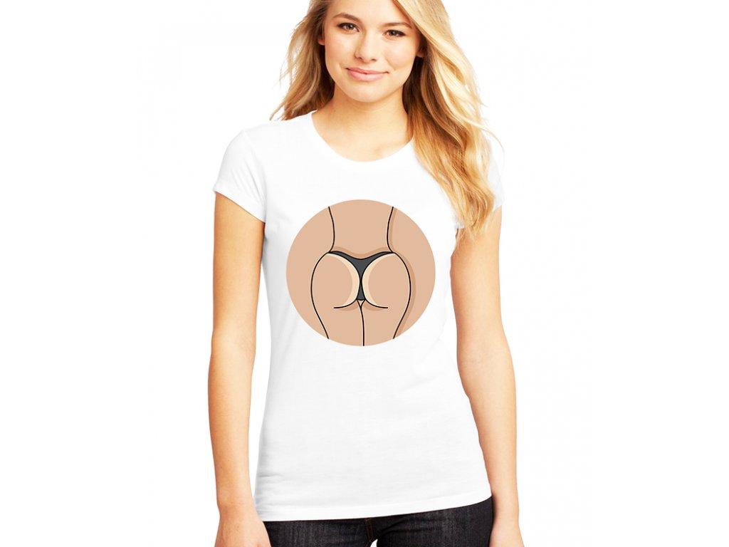 Dámské tričko Zadek