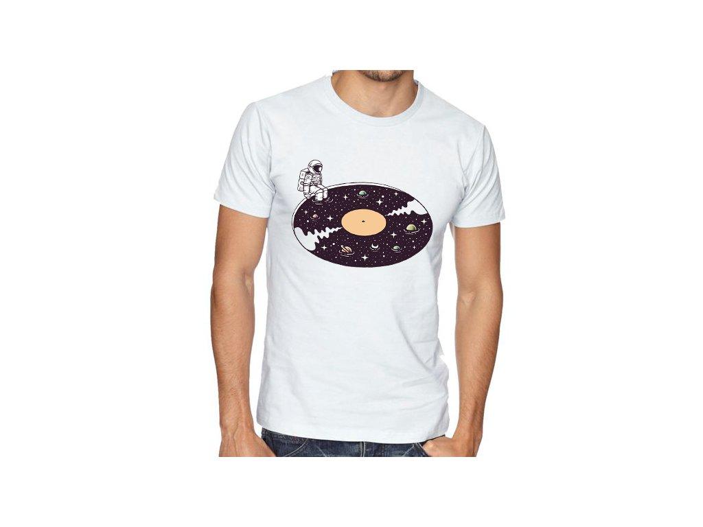 Pánské tričko Vesmír muzika