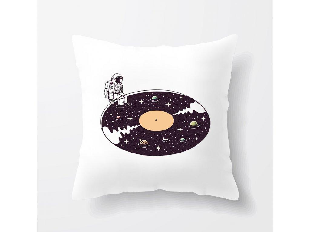 Polštář Vesmír muzika