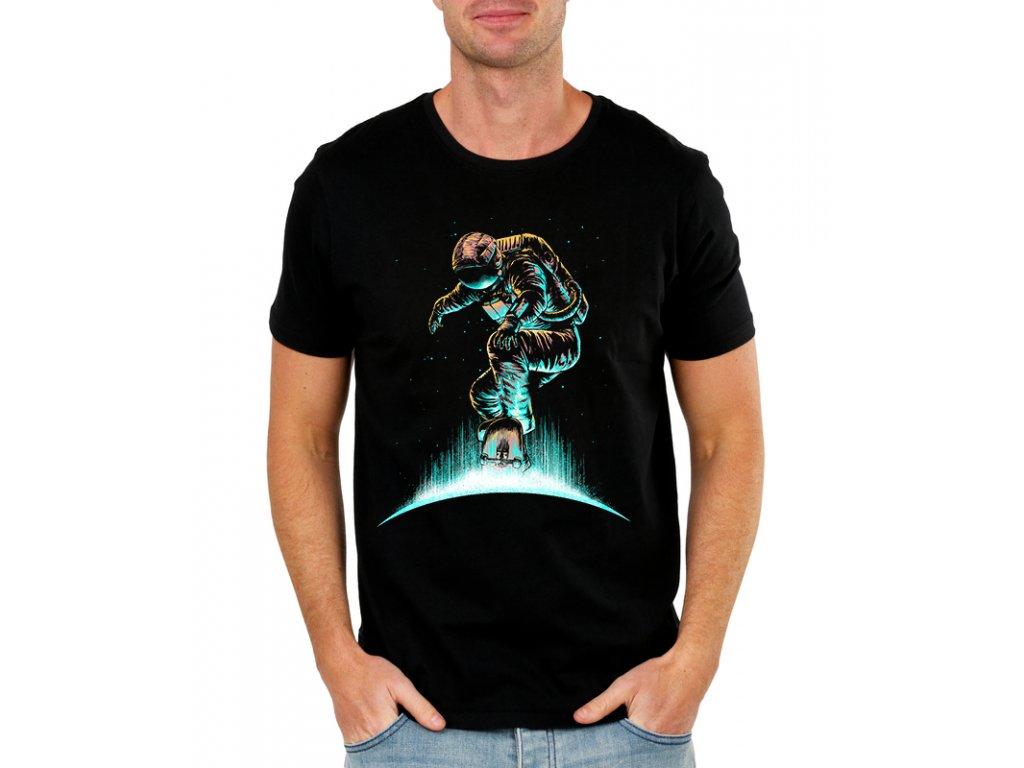 Pánské tričko Vesmír skate