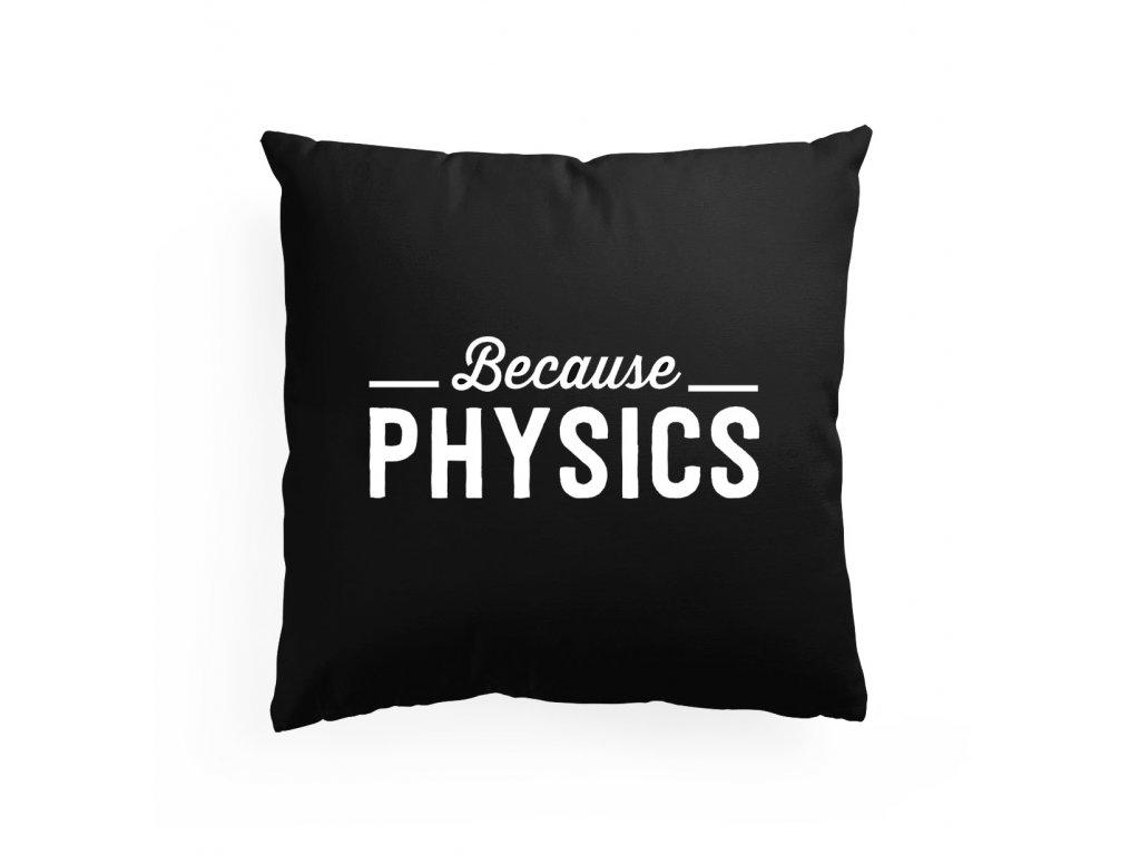 Polštář Protože fyzika