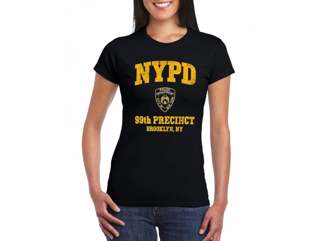 Dámské tričko NYPD