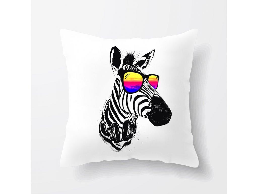 Polštář Zebra